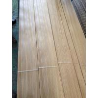 Quality 0.60mm Rift Zebrano Sliced Wood Veneer for Furniture Door Architectural Woodworks and Designing from Shunfang-veneer.com for sale