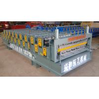 Quality Automatic Double Deck Roll Forming Machine For Making Steel Roof Panel for sale