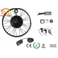 Lightewight Electric Bike Hub Conversion Kit , 500W E Bike Upgrade Kit