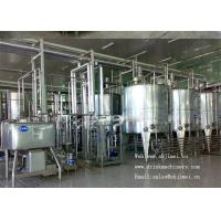China 4000L / H fruit Juice Processing Equipment 8000BPH Turn Key Projects on sale