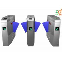 Anti-Rushing Automatic Turnstiles Bi-directional Flap Barriers Speed Gate Manufactures