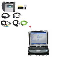 Multi-language WIFI MB Star SD C4 Mercedes Benz Diagnostic Tool Plus Panasonic CF19 I5 CPU 4G RAM Manufactures