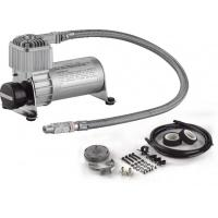 Black And Silver Air Ride Engine Driven Compressor With Fast Pump Function Air Tank Manufactures