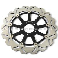 ZX7R NINJA Motorcycle Brake Disc Brakes And Rotors Kawasaki ZX9R ZZR 1100 CNC Anodized Manufactures