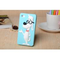 The new creative genius glasses dog silica gel protective sleeve Apple following Manufactures