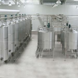 2000LPH Yogurt  Modern Milk Dairy Processing Plant Machinery Manufactures