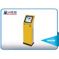 Free Standing Wifi 22 Inch Card Dispenser Machine With Document Scanner Manufactures