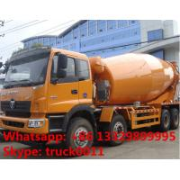 Foton LHD Euro 3 8*375hp 16cbm cement mixer truck for sale, factory sale 8*4 heavy duty  mixer drum mounted on truck Manufactures