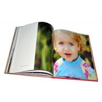 Buy cheap Wedding  Classic Print Photo Book Jacket Cover Leather Bound Photo Book Printing from wholesalers