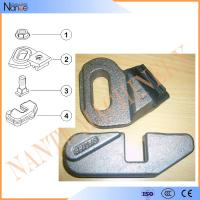 Quality Gantrex Railok W10 Crane Rail Clamps For Cranes P50 Crane Rail Accessories for sale