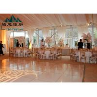 Large Outdoor Party Tents Waterproof Clear Span For Wedding Celebrations Manufactures