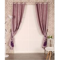 Buy cheap Window Curtain Embrossed Black Out With Flocking from wholesalers