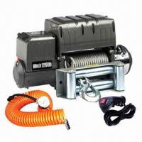 12000lbs Heavy Duty Electric Winch with Air Compressor Manufactures