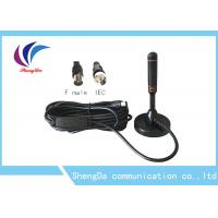 China 30dBi Sucker Whip VHF UHF Digital Antenna RG174 Coaxial Cable ROHS Approval on sale