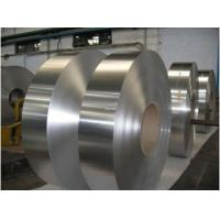 Thickness 0.10-3.0mm Aluminium Foil Strip , Brushed Aluminum Strips For Multilayer Pipe Manufactures