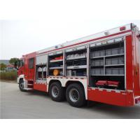Quality Multi Functional Fire Equipment Truck Max Speed 89 KM/H With Huge Capacity for sale