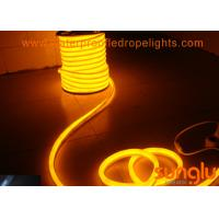 SMD 5050 60D 220v LED Rope Light , Round PVC Yellow LED Tape Lights For Holiday Manufactures