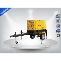 Quality Rental Trailer Genset 23.3:1 Compression Ratio 1500 R / Min Engine Speed for sale