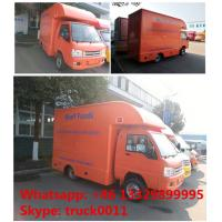 Quality 2017s new forland 4*2 RHD 39KW diesel mobile kitchen vending truck for sale, for sale