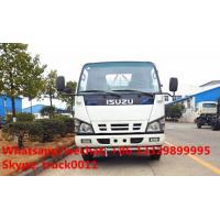 Factory sale best price ISUZU 600P 120hp diesel 5,000Liters cistern truck, 2017s new ISUZU brand 4*2 LHD 5m3 water tank Manufactures