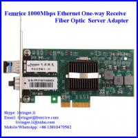 Buy cheap Intel 82571EB Gigabit Controller 1G Ethernt Single Receive Port Server Adapter from wholesalers