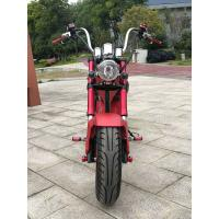 1500W 60V Electric City Bike High Carbon Steel Motorcycle 50km/h Speed Handleber Acceleration Manufactures