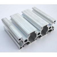 6005 / 6063 T5 Extruded Aluminum Framing , Assembly Line Profile For Electromechanical Parts Manufactures