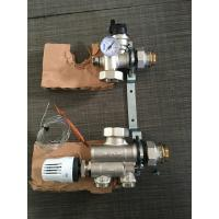 Hot Water Tempering Valve Brass Water Flow Control Valve For Underfloor Heating Manifold Manufactures