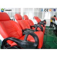 6 Dof Mobile Theater Chair , 4d Cinema Custom Motion Control System Manufactures
