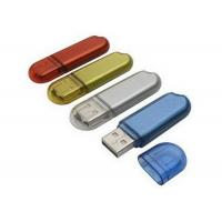 Multi Color Micro Plastic USB Flash Drive 2.0 High Speed USB Sticks For Office Manufactures
