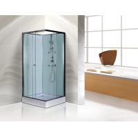 Free Standing Square Corner Shower Stall Kits SGS ISO9001 Certification Manufactures