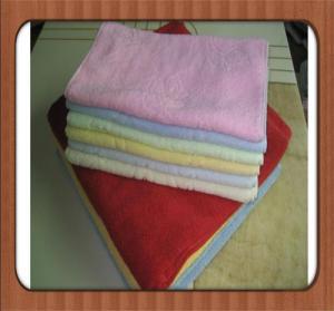 hot sale custom Wholesale high quality plain dyed bleach cheap 100% cotton face towel Manufactures