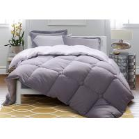 Solid Warm Purple Down Alternative Comforter Twin / Queen / King Size Machine Wash Manufactures