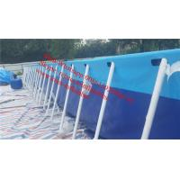 Quality rectangular above ground swimming pool canvas swimming pool outdoor swimming pool desgins for sale