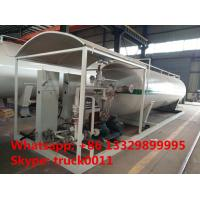 CLW brand skid lpg gas refilling plant with 3 filling machines for sale, complete mobile skid lpg gas filling station Manufactures