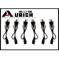 Australian Power Cord To IEC C13 Connector For Monitor / Scanner / Printer Manufactures