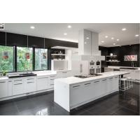 modern white solid wood custom cabinets new kitchen cabinet design Manufactures