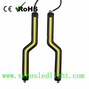 LED COB Z Shape Car Auto DRL Driving Daytime Running Lamp Fog Light White*2 12V Manufactures