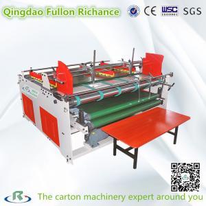 China ISO9001:New Style Semi-Auto Corrugated Pizza Box Folding Gluer Machine on sale