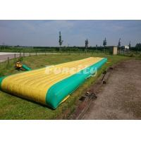 Fantastic Custom Inflatable Air Jumping Track With 5 Years Lifespan Manufactures
