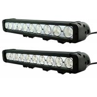 China Waterproof 100w single row 17  led light bars IP68 , Spot Flood car led light bar on sale