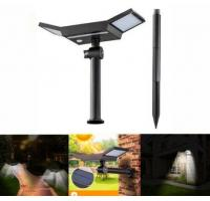 China 20 LED White Light Sensor Solar Light Outdoor Waterproof Stake Light on sale