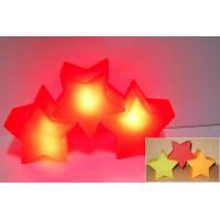 Luminous LED Flashing Star / Light Up Flowers Toy Non Phthalates Tea Light Manufactures