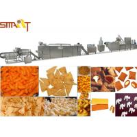 Electrical Automatic Snack Food Extruder Machine / Corn Puff Making Machine Manufactures