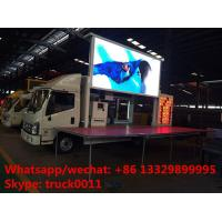 Euro 5 Foton P6 mobile outdoor LED billboard advertising  vehicle for sale, FOTON mobile LED advertising truck for sale Manufactures