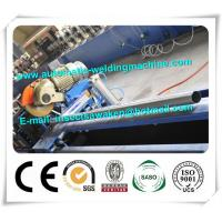 Manual Uncoiler Steel Silo Forming Machine , Steel Octagonal Tube Roll Forming Line Manufactures