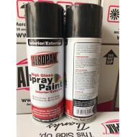 Anti Scratch Aerosol Spray Paint Odourless 400ml Car Spray Paint Cans Manufactures