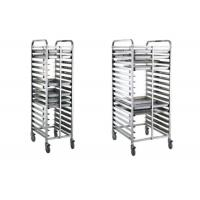16/32 Tray Full-Size Bun / Sheet Pan Rack Assembled or Welding Type Stainless Steel Catering Equipment Manufactures
