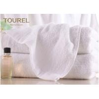 100% Cotton Terry Hotel Hand Towels Embroided White Color Luxury Hand Towels Manufactures