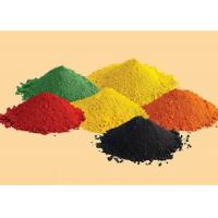 Iron Oxide Colouring Cement Pigment Building Materials In Black / Red / Orange Manufactures